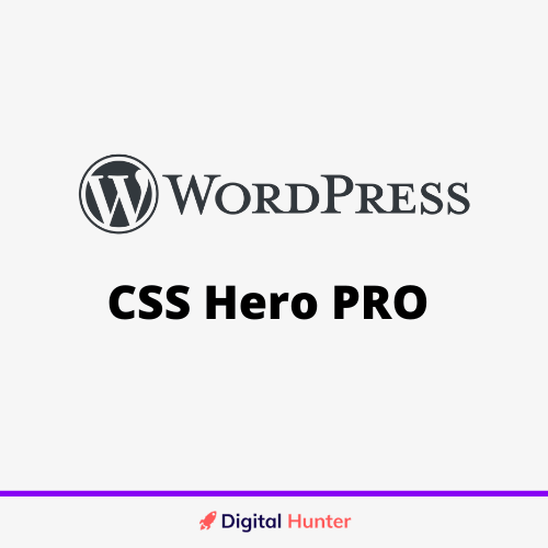 CSS Hero PRO Wordpress Plugin