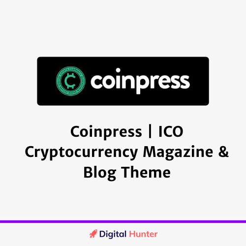 Coinpress ICO Cryptocurrency Magazine & Blog Theme