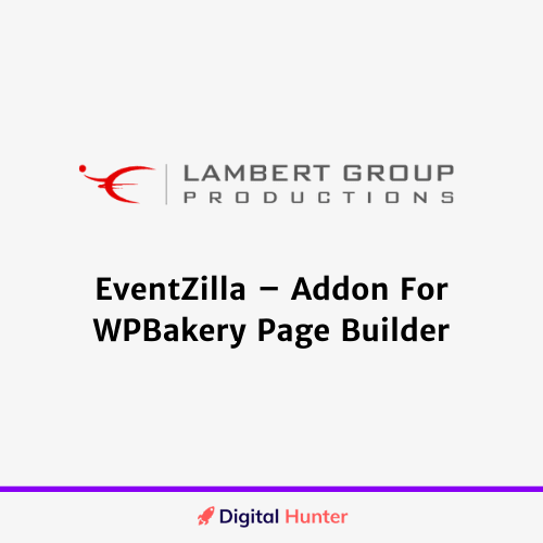 EventZilla – Addon For WPBakery Page Builder