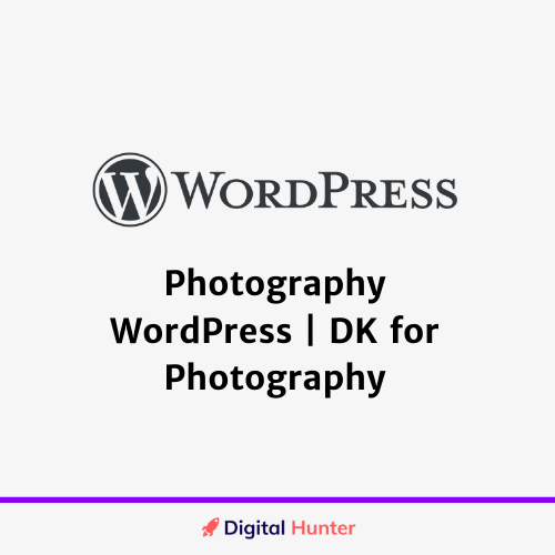 Photography WordPress DK for Photography