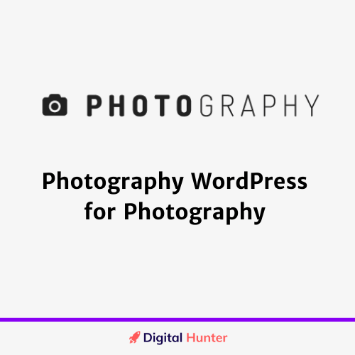 Photography WordPress for Photography