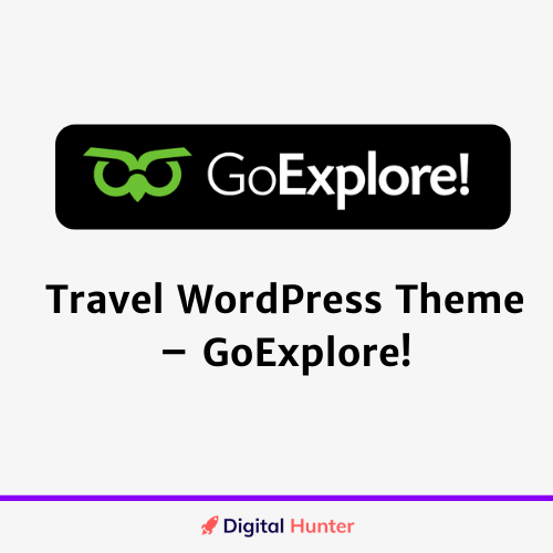 Travel WordPress Theme – GoExplore!