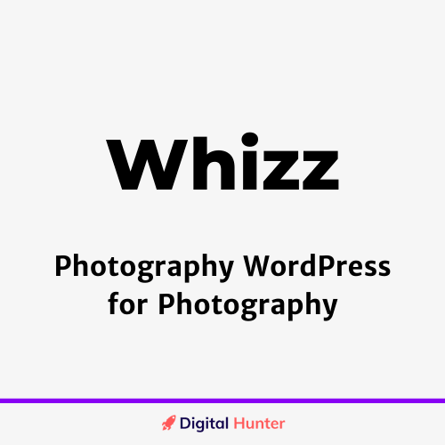 Whizz Photography WordPress for Photography