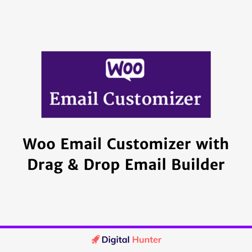 WooCommerce Email Customizer with Drag and Drop Email Builder