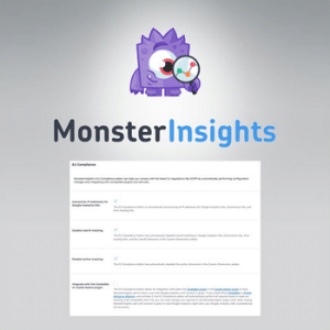 MonsterInsights – EU Compliance Addon
