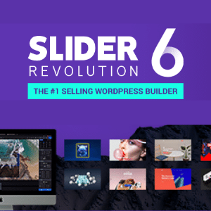 Slider Revolution Responsive WordPress Plugin + Addons + Templates
