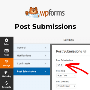WPForms – Post Submissions